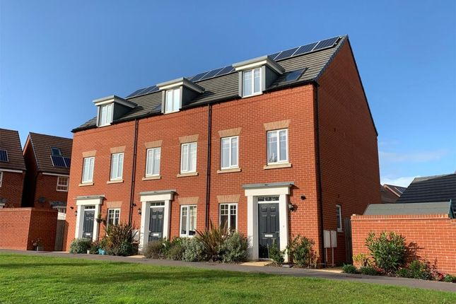 Thumbnail End terrace house for sale in Peppercombe Avenue, Exeter, Devon