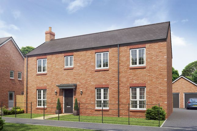 "Thumbnail Detached house for sale in ""The Kensington"" at Hartburn, Morpeth"