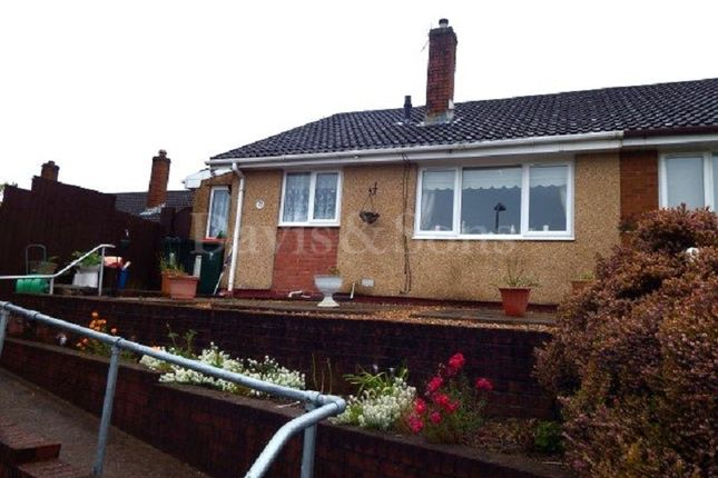 Thumbnail Semi-detached bungalow for sale in Aberthaw Circle, Off Aberthaw Road, Newport.