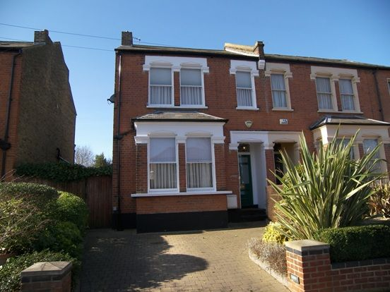Thumbnail Semi-detached house to rent in Radcliffe Road, Winchmore Hill