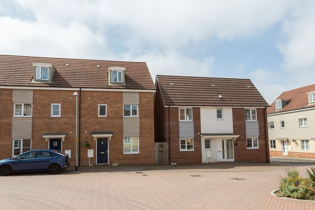 Thumbnail Town house to rent in Magnolia Way, Costessey, Norwich