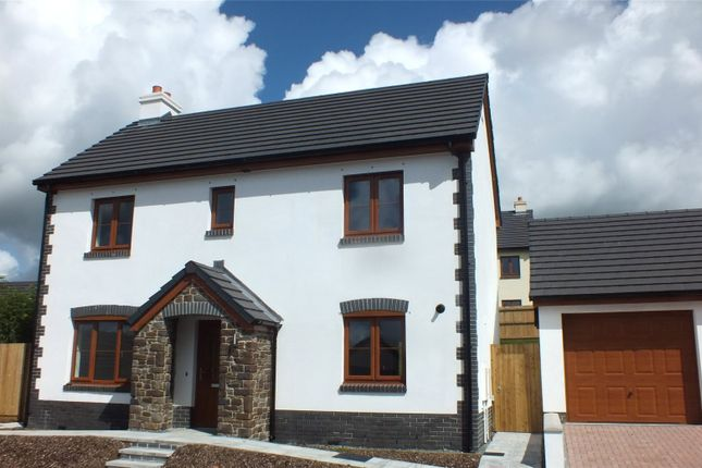 Thumbnail Detached house for sale in Newton Heights, Kilgetty, Pembrokeshire