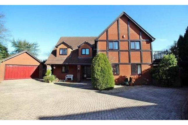 Thumbnail Detached house for sale in 4 The Paddocks, Groesfaen, Pontyclun