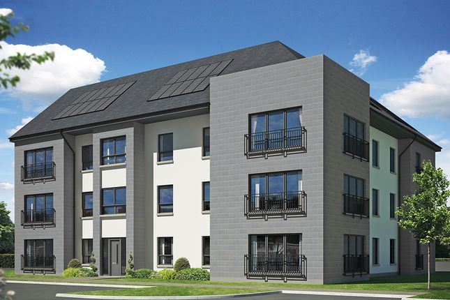 Thumbnail Flat for sale in Off Hamilton Road, Motherwell, Lanarkshire