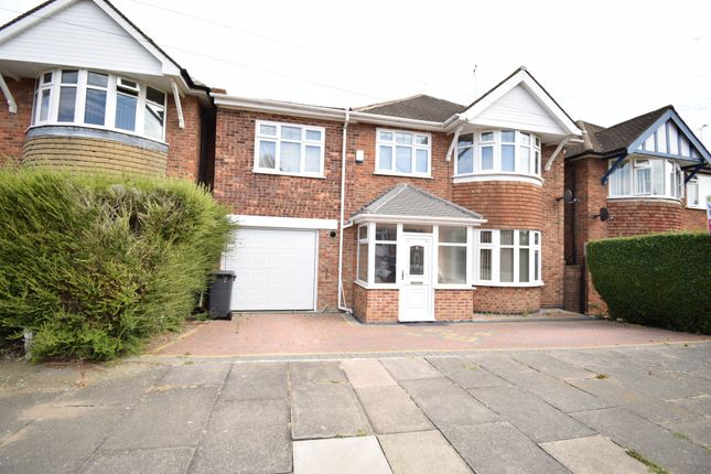Thumbnail Detached house for sale in Summerlea Road, Evington, Leicester