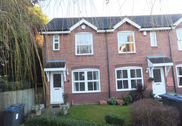 Thumbnail Terraced house to rent in Rowan Close, New Hall Manor, Sutton Coldfield
