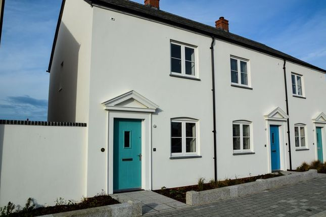 Thumbnail End terrace house to rent in Gwarak Esels, Newquay