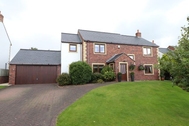 Thumbnail Detached house for sale in Holme Meadow, Cumwhinton, Carlisle