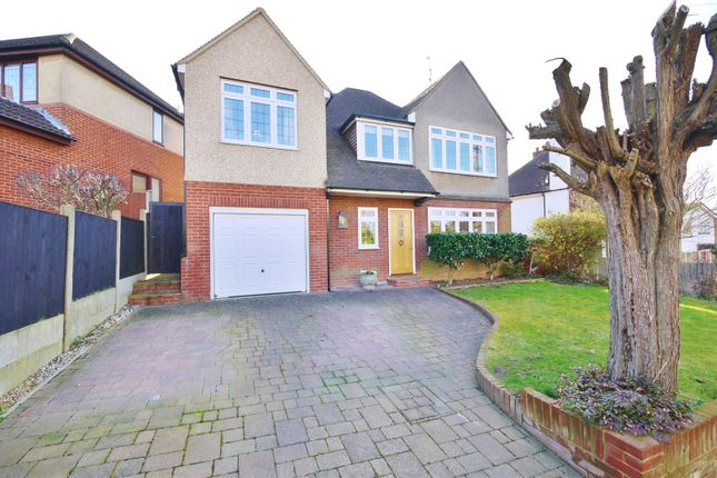 Thumbnail Detached house for sale in Headley Chase, Warley, Brentwood, Essex