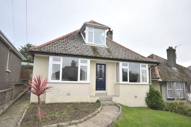 Thumbnail Bungalow to rent in Crediton Road, Okehampton