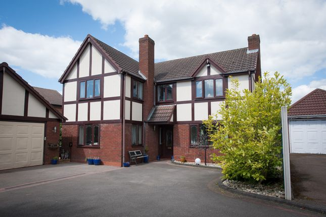 Thumbnail Detached house for sale in Deepdale, Wilnecote, Tamworth