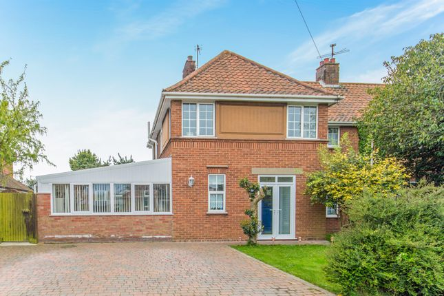 Thumbnail Semi-detached house for sale in West Avenue, Ormesby, Great Yarmouth