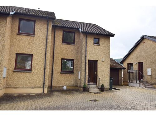 Thumbnail Semi-detached house to rent in Park Terrace, Pitlochry