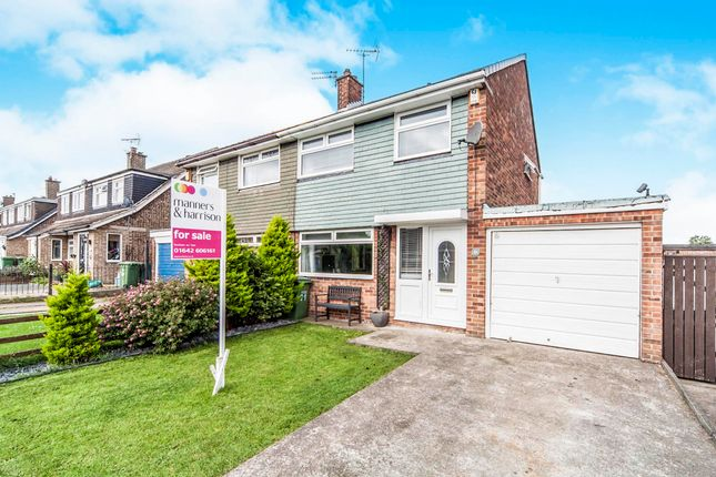 3 bed semi-detached house for sale in Mitford Crescent, Stockton-On-Tees