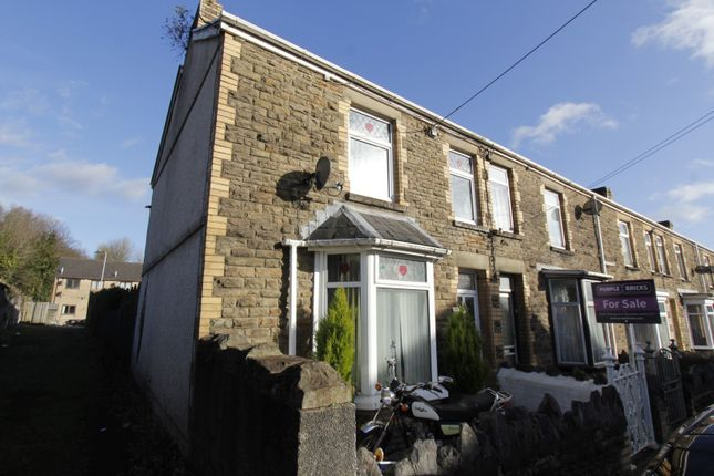 Thumbnail End terrace house for sale in Ty R Owen Terrace, Cwmavon