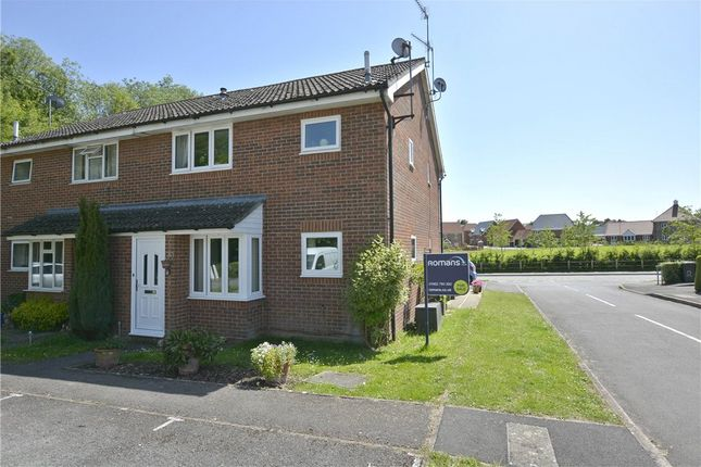 Thumbnail Terraced house for sale in Hartley Meadows, Whitchurch, Hampshire