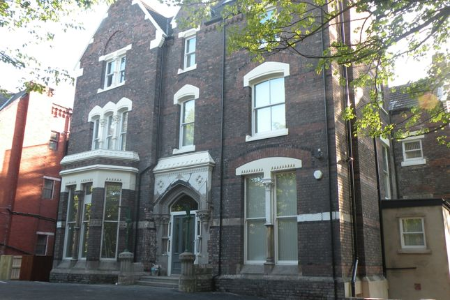 Thumbnail Flat to rent in Alexandra Drive, Liverpool