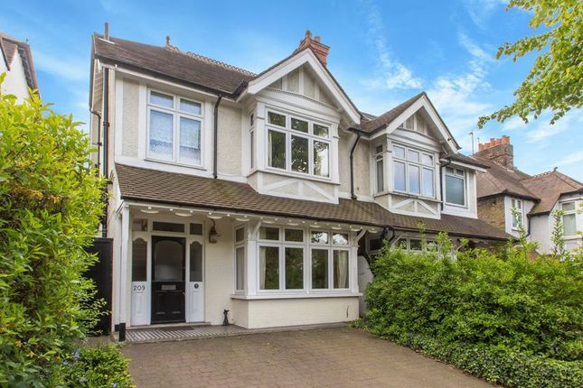Thumbnail Semi-detached house for sale in Stanley Park Road, Carshalton