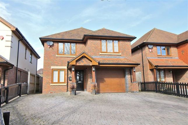 Thumbnail Detached house for sale in Avenue Road, Walkford, Christchurch