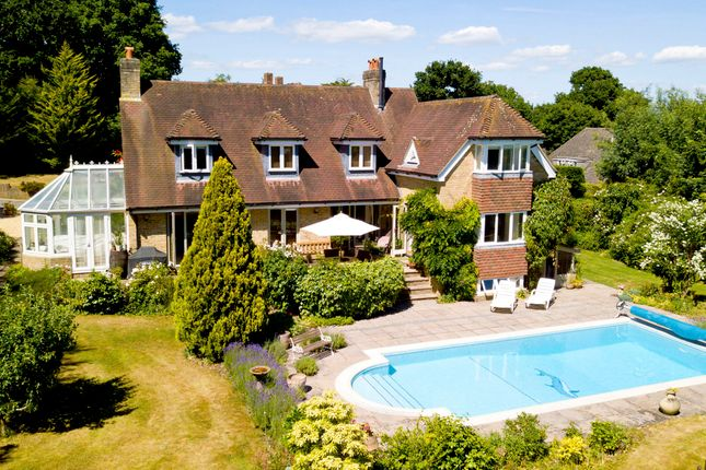 Thumbnail Detached house for sale in Hollywood Lane, Lymington, Hampshire