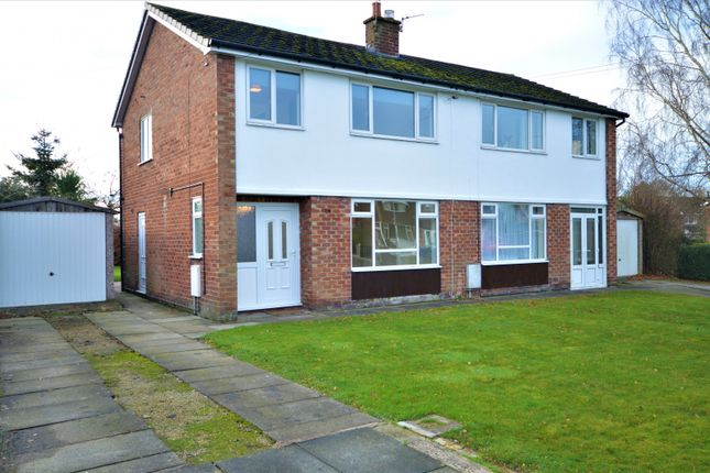 Thumbnail Semi-detached house to rent in Birchwood Drive, Lower Peover, Knutsford