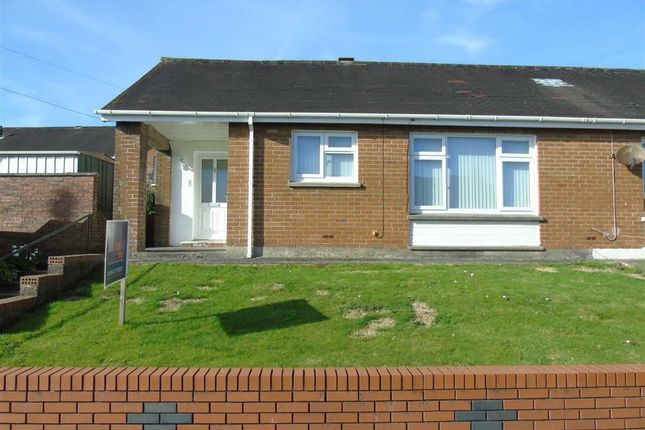Thumbnail Semi-detached bungalow for sale in Bryncanol, Dafen, Llanelli