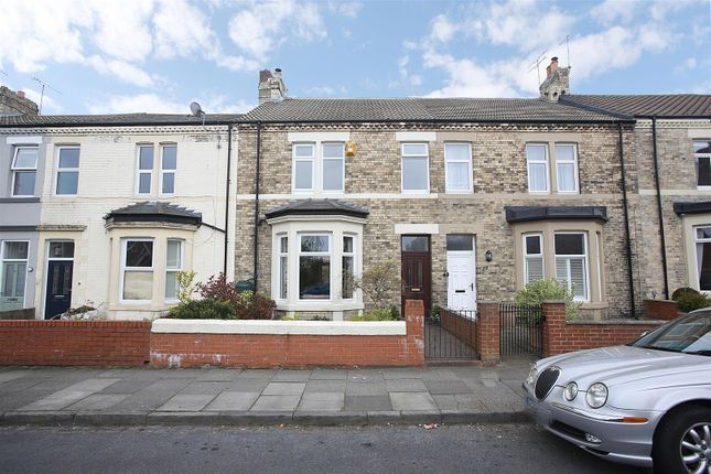 Thumbnail Terraced house for sale in Delaval Road, Whitley Bay