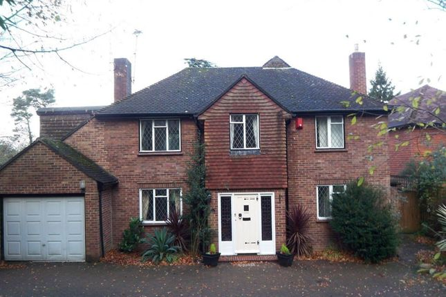 Thumbnail Detached house to rent in Woodside Road, Sevenoaks