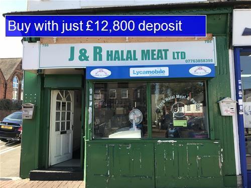 Retail premises for sale in Bearwood Road, Bearwood, Smethwick