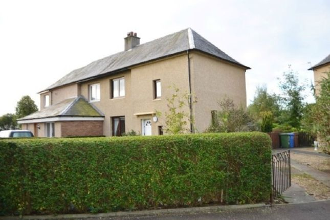 Thumbnail Semi-detached house to rent in Queens Drive, Larbert