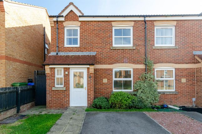 Thumbnail Semi-detached house for sale in Pasture Close, Withernsea