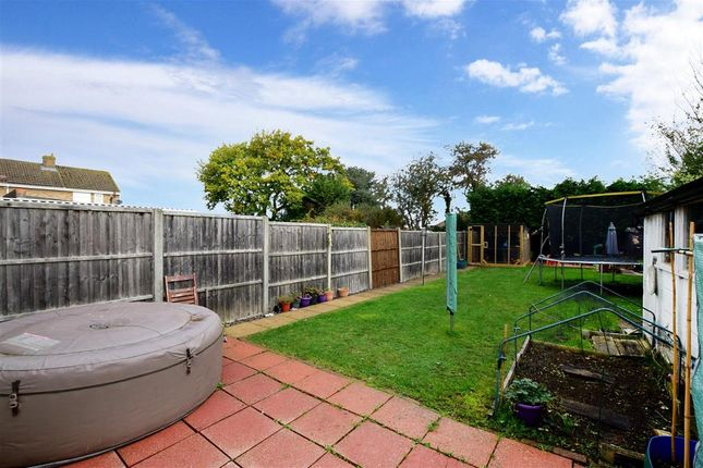 Rear Garden of Gresham Road, Coxheath, Maidstone, Kent ME17