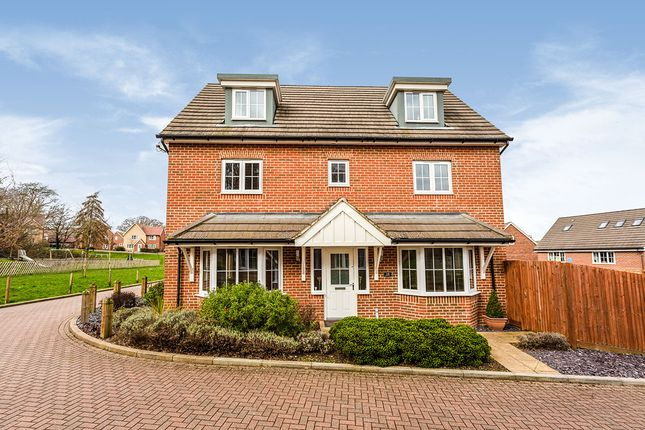 Thumbnail Detached house for sale in Bradbrook Drive, Longfield, Kent