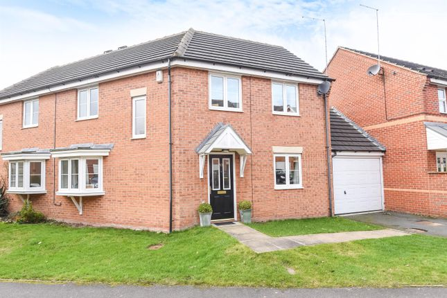Thumbnail Semi-detached house for sale in Millbank, Yeadon, Leeds
