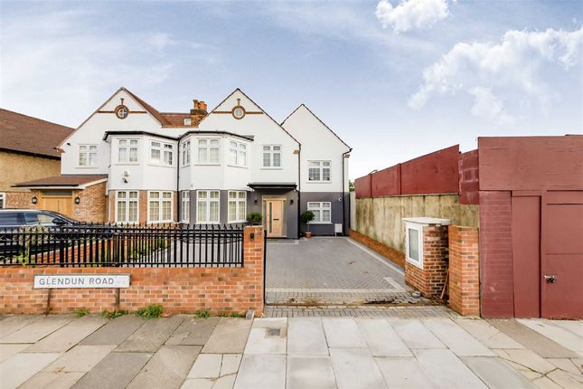 Thumbnail Semi-detached house for sale in Glendun Road, London