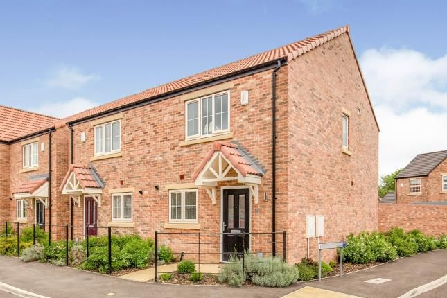 2 bed semi-detached house for sale in Bradley Way, Great Broughton, North Yorkshire, Uk TS9