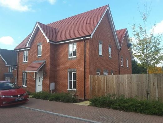 3 bed semi-detached house for sale in Bailey Close, Andover