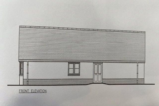 Thumbnail Detached bungalow for sale in Plot 2 The Dale, Land South Of Kilvelgy Park, Kilgetty, Pembrokeshire