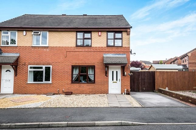 Thumbnail Semi-detached house for sale in Trevithick Close, Bentilee, Stoke-On-Trent