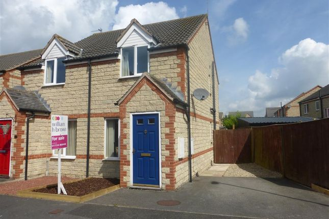 Thumbnail Semi-detached house for sale in Queens Drive, Crowle, Scunthorpe