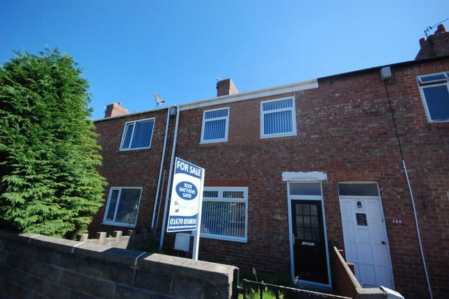 Terraced house for sale in Milburn Road, Ashington