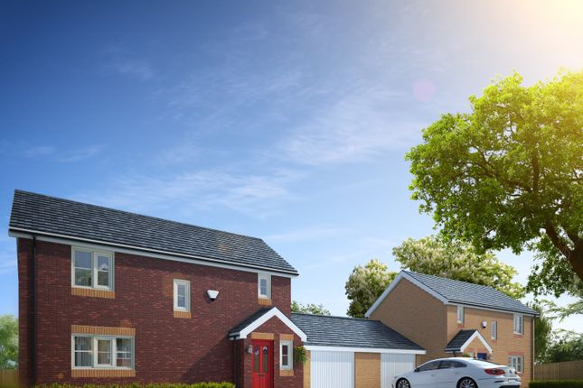 Thumbnail Detached house for sale in Plot 31 Po 24 Dolydd Pentrosfa, Llandrindod Wells