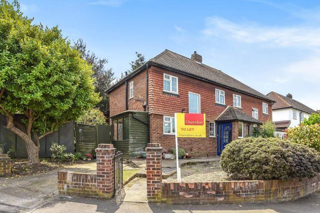 Thumbnail Semi-detached house to rent in Villiers Close, Surbiton