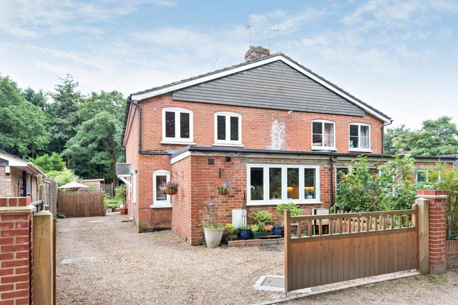 Thumbnail Semi-detached house for sale in Pirbright, Surrey