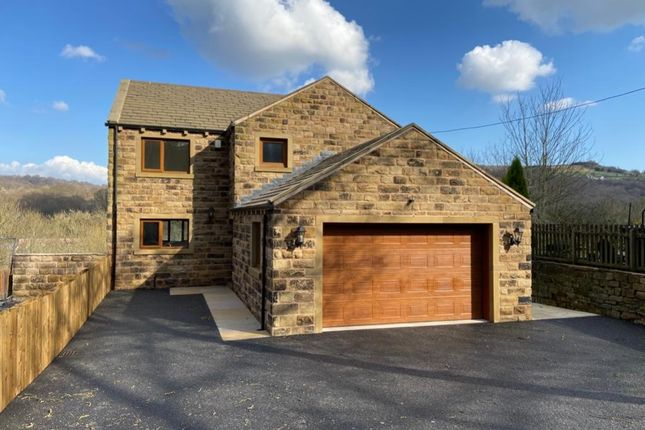 Detached house for sale in Riverside View, Woodhead Road, Honley