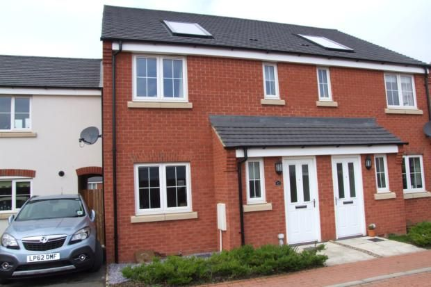 Thumbnail Town house to rent in Tweed Crescent, Rushden