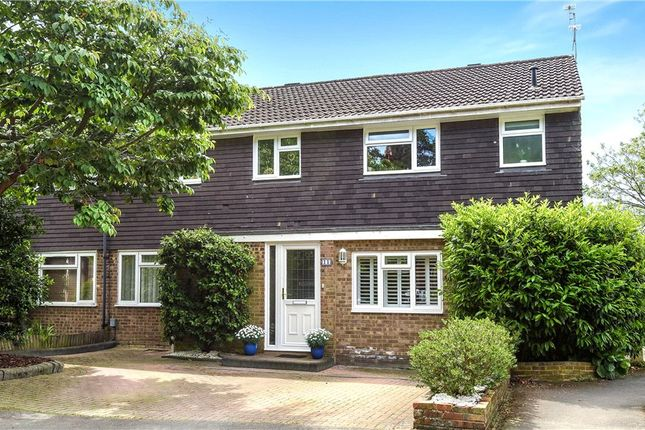 Thumbnail Semi-detached house for sale in Copelands Close, Camberley, Surrey