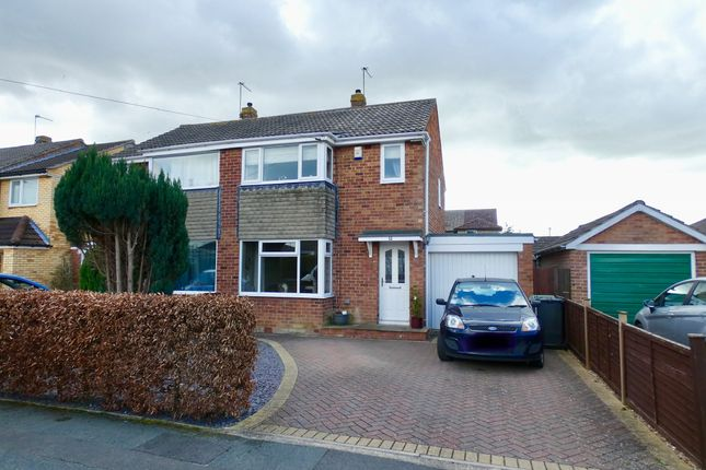 Thumbnail Semi-detached house for sale in Tilmire Close, York