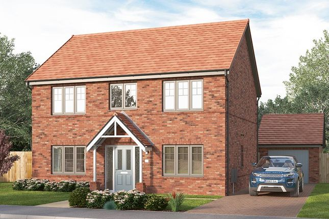 "Thumbnail Detached house for sale in ""The Lathbury"" at Chilton, Ferryhill"