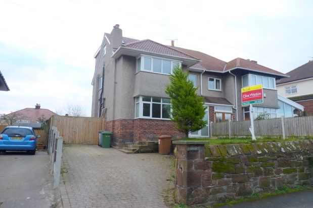 Thumbnail Semi-detached house to rent in Black Horse Hill, West Kirby, Wirral